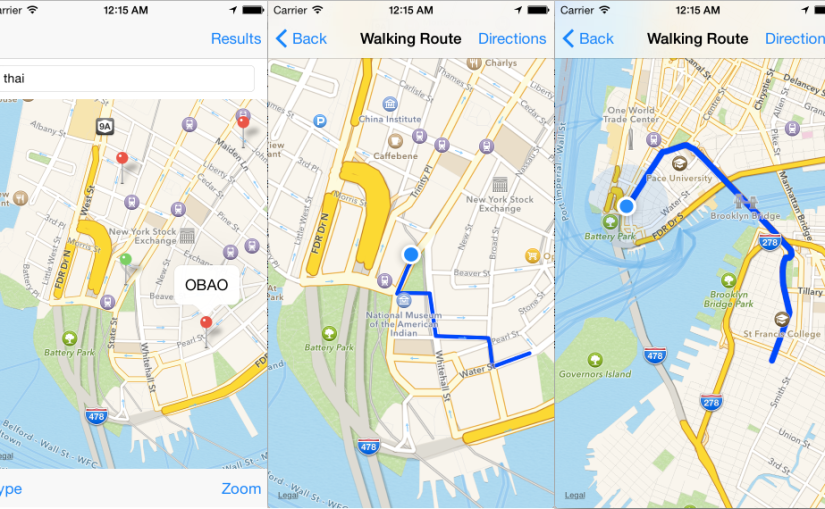 Playing with iOS MapKit Part 3: Making it Pretty