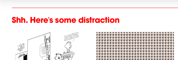 Life is distractions