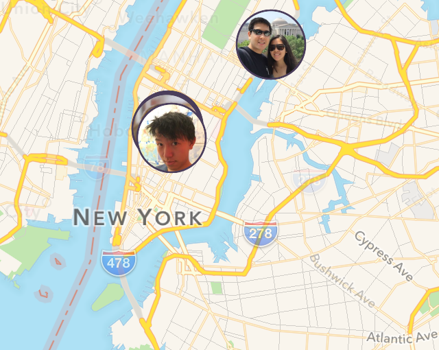 IS – location sharing